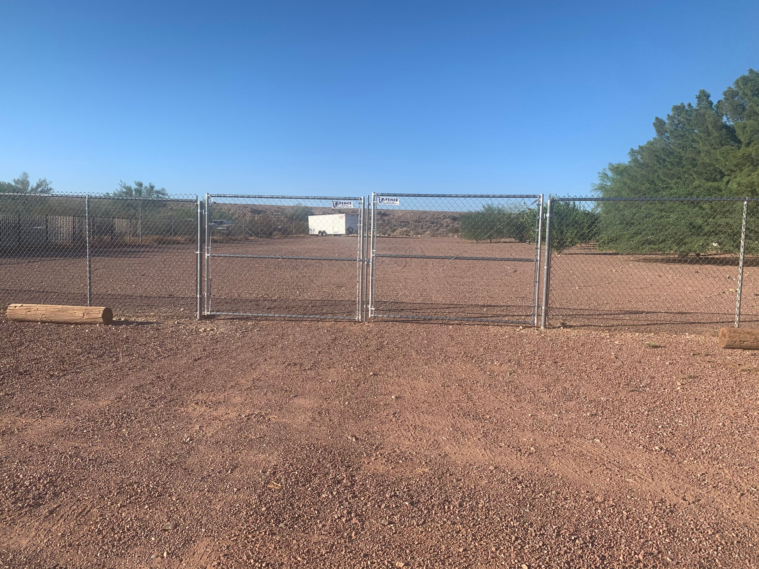 36x12 Unpaved Lot self storage unit