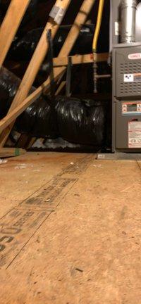 14x14 Attic self storage unit