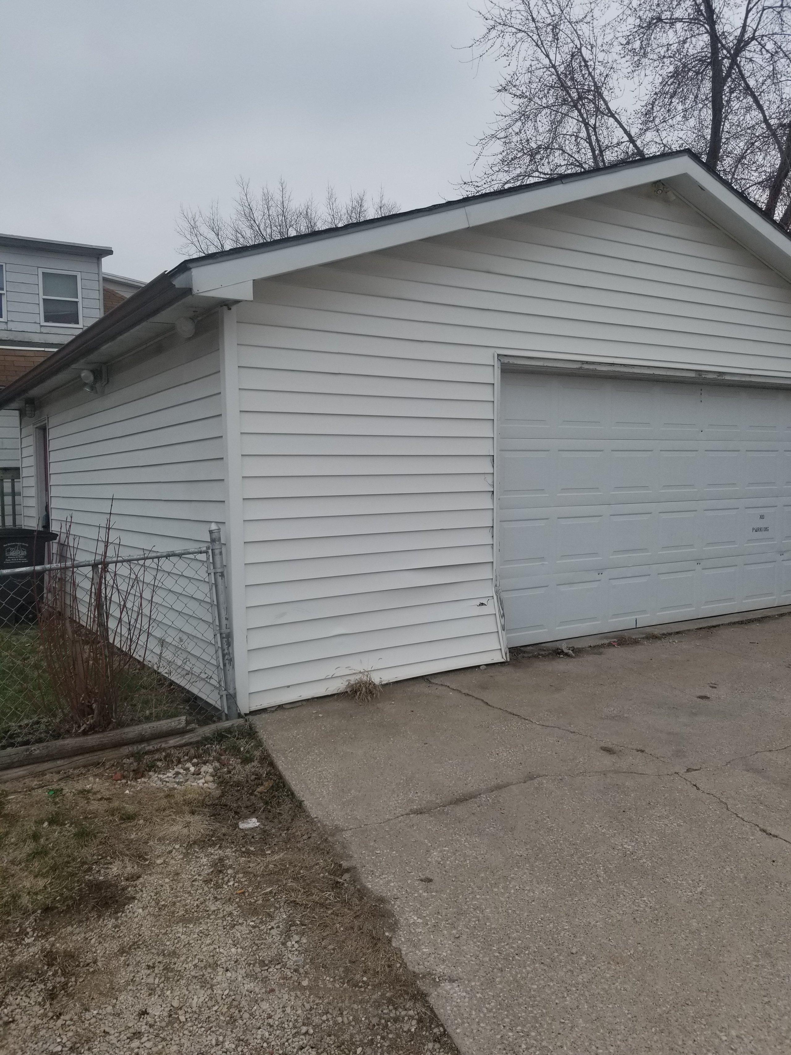 24x24 Garage self storage unit