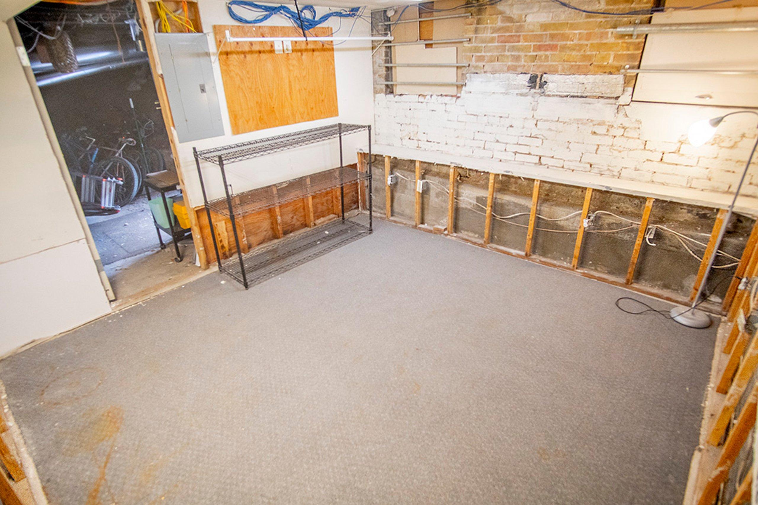 13x13 Basement self storage unit
