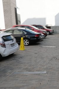 7x14 Parking Lot self storage unit