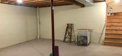 40x30 Basement self storage unit