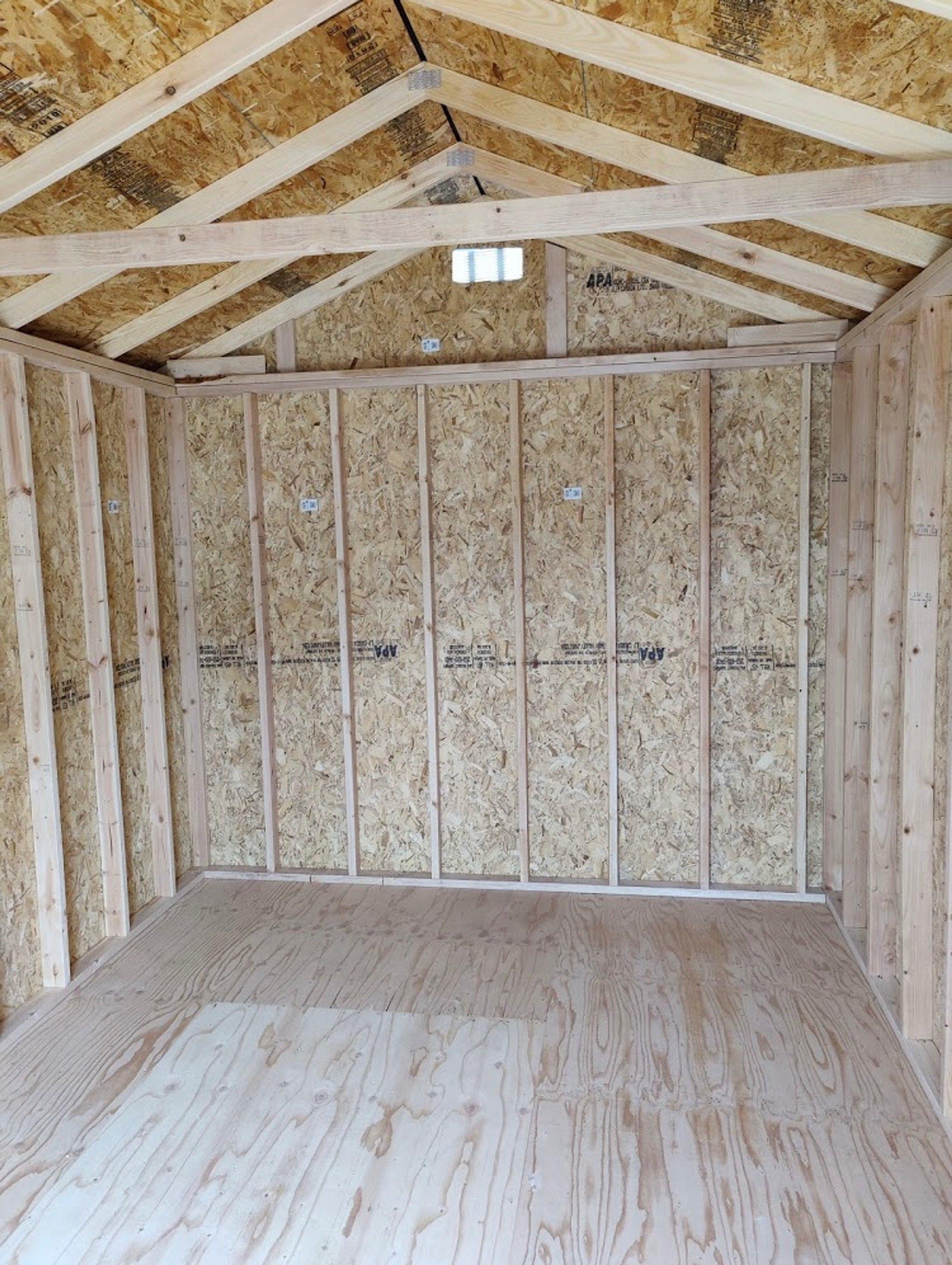 20x8 Shed self storage unit