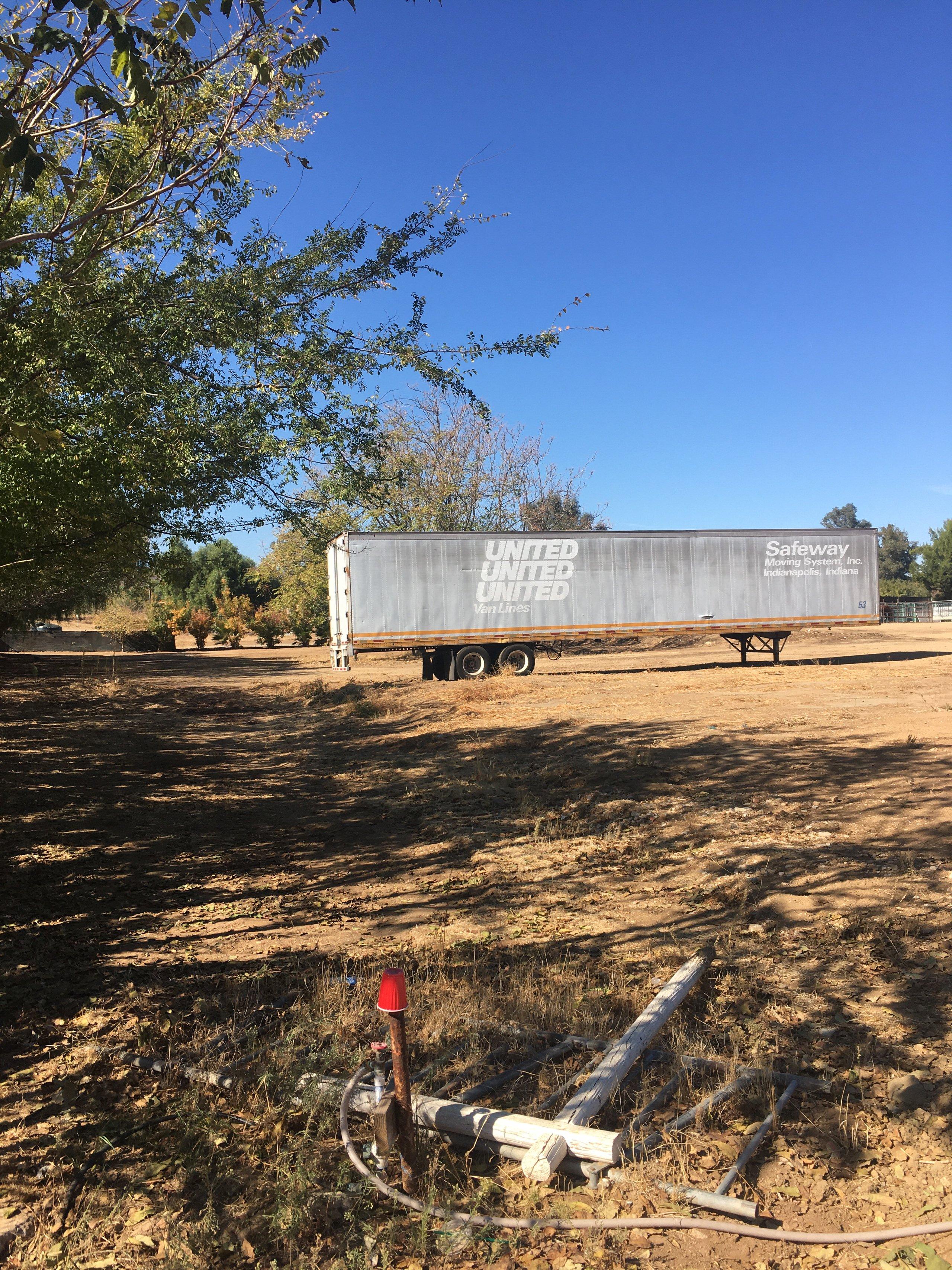 88x583 Unpaved Lot self storage unit