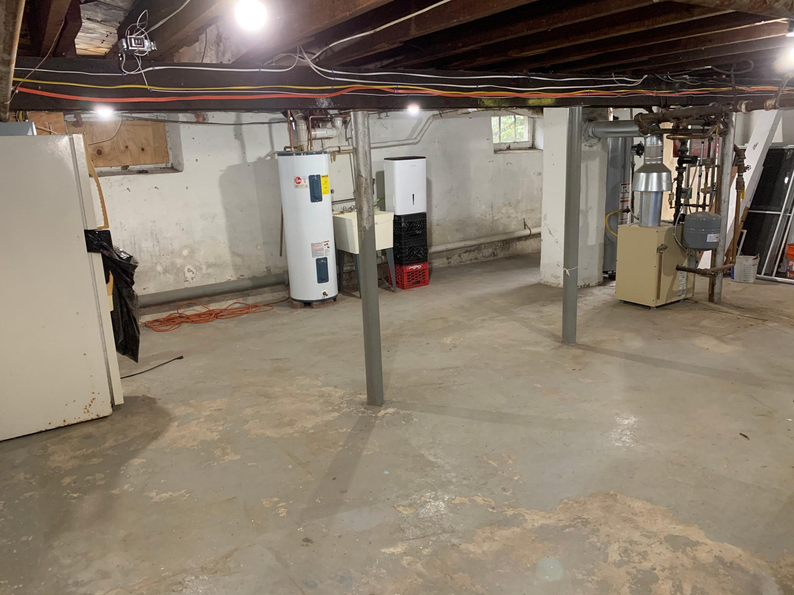 24x22 Basement self storage unit