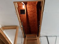 8x8 Attic self storage unit