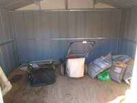 7x10 Shed self storage unit