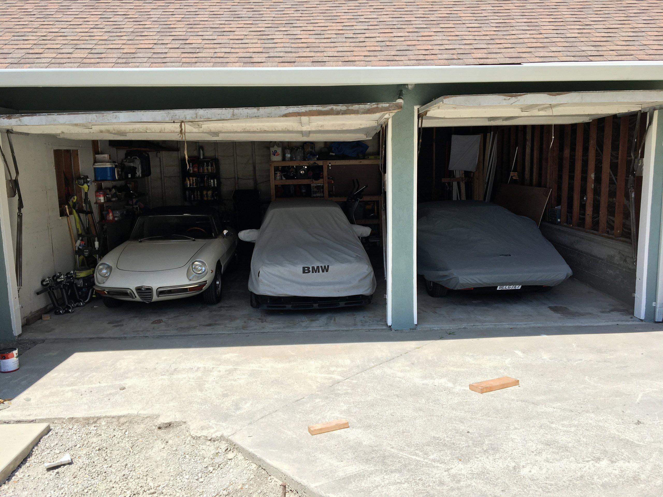 16x10 Garage self storage unit
