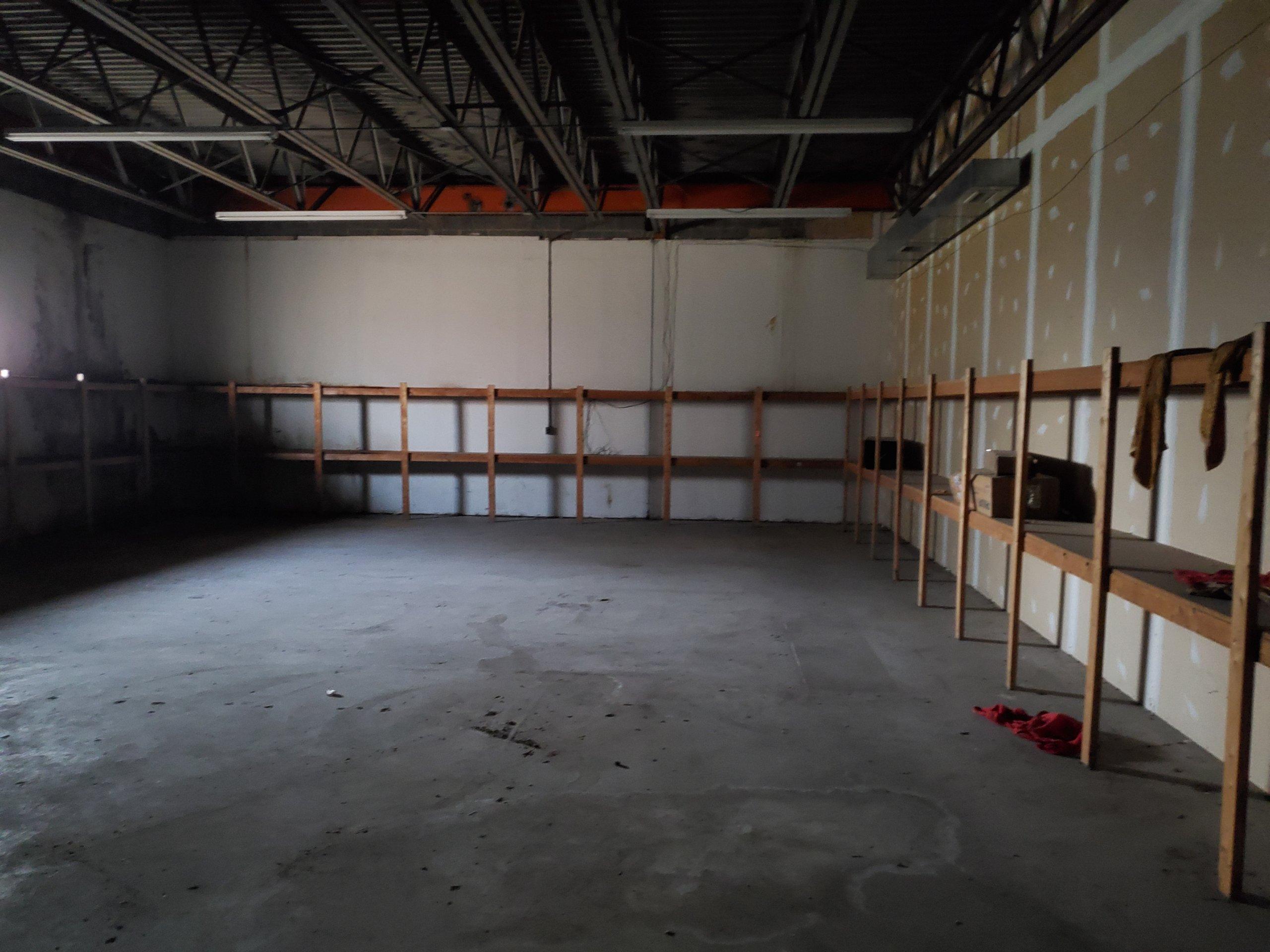 35x70 Warehouse self storage unit