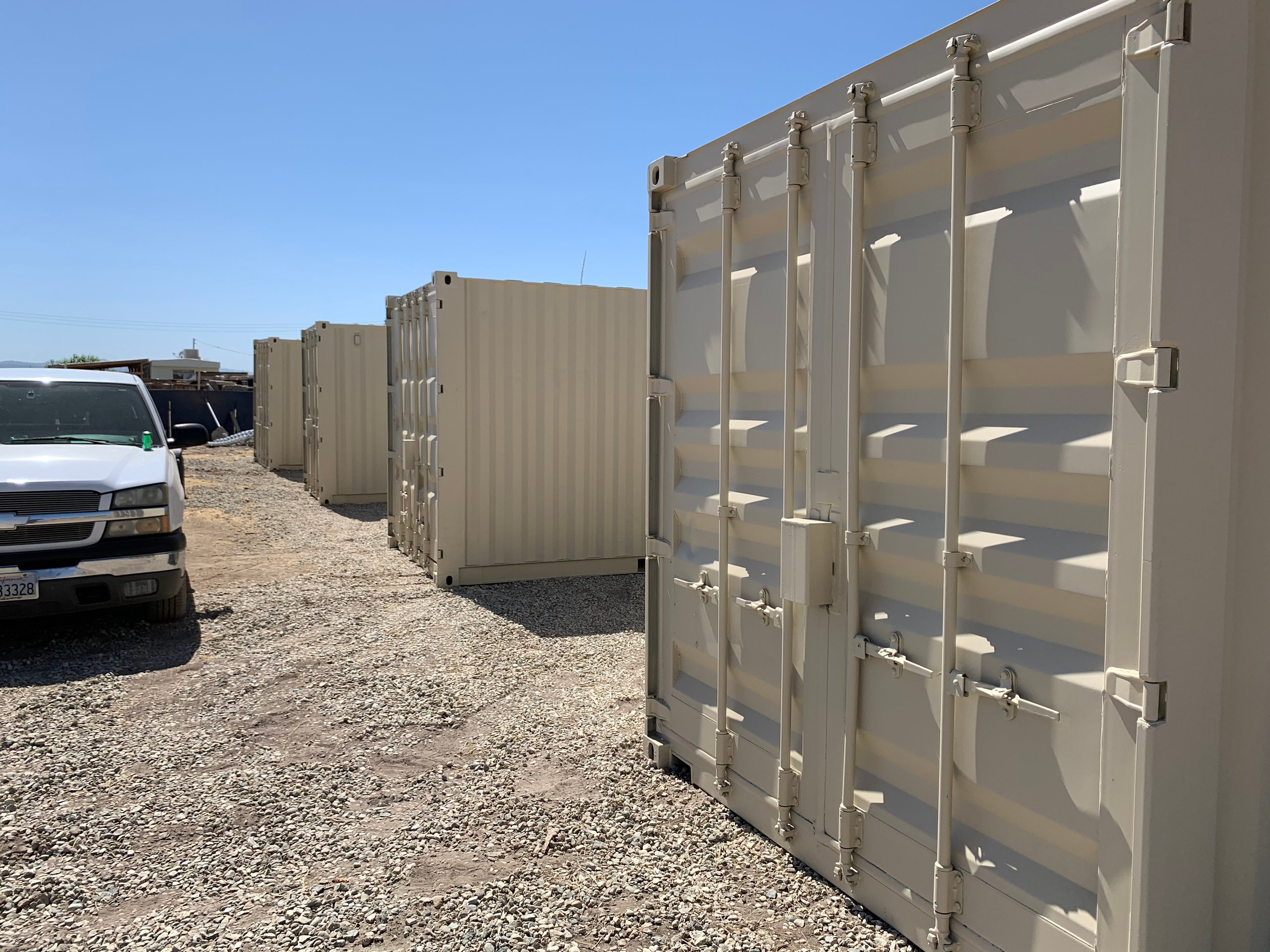 20x8 Shipping Container self storage unit