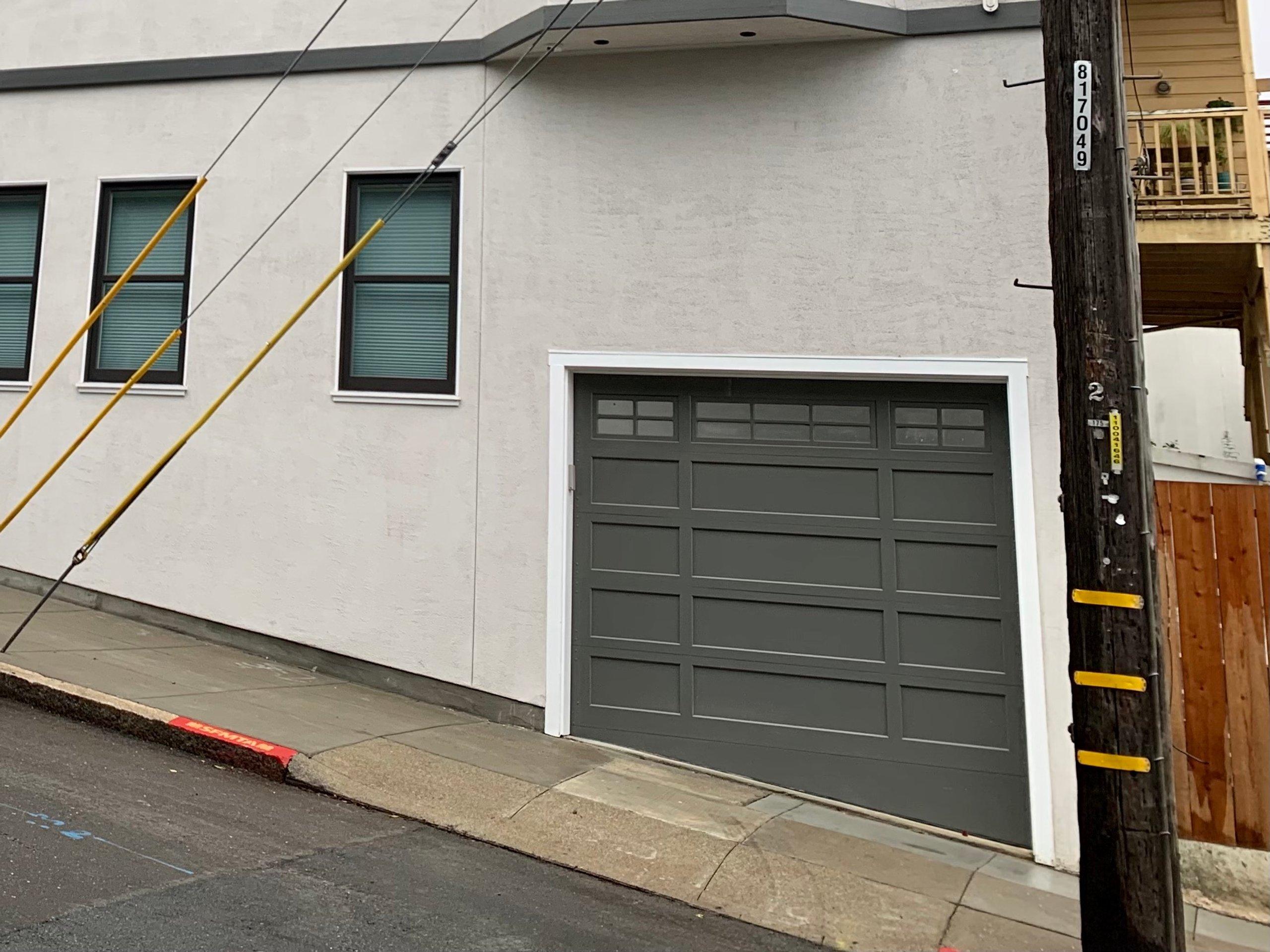 17x8 Carport self storage unit