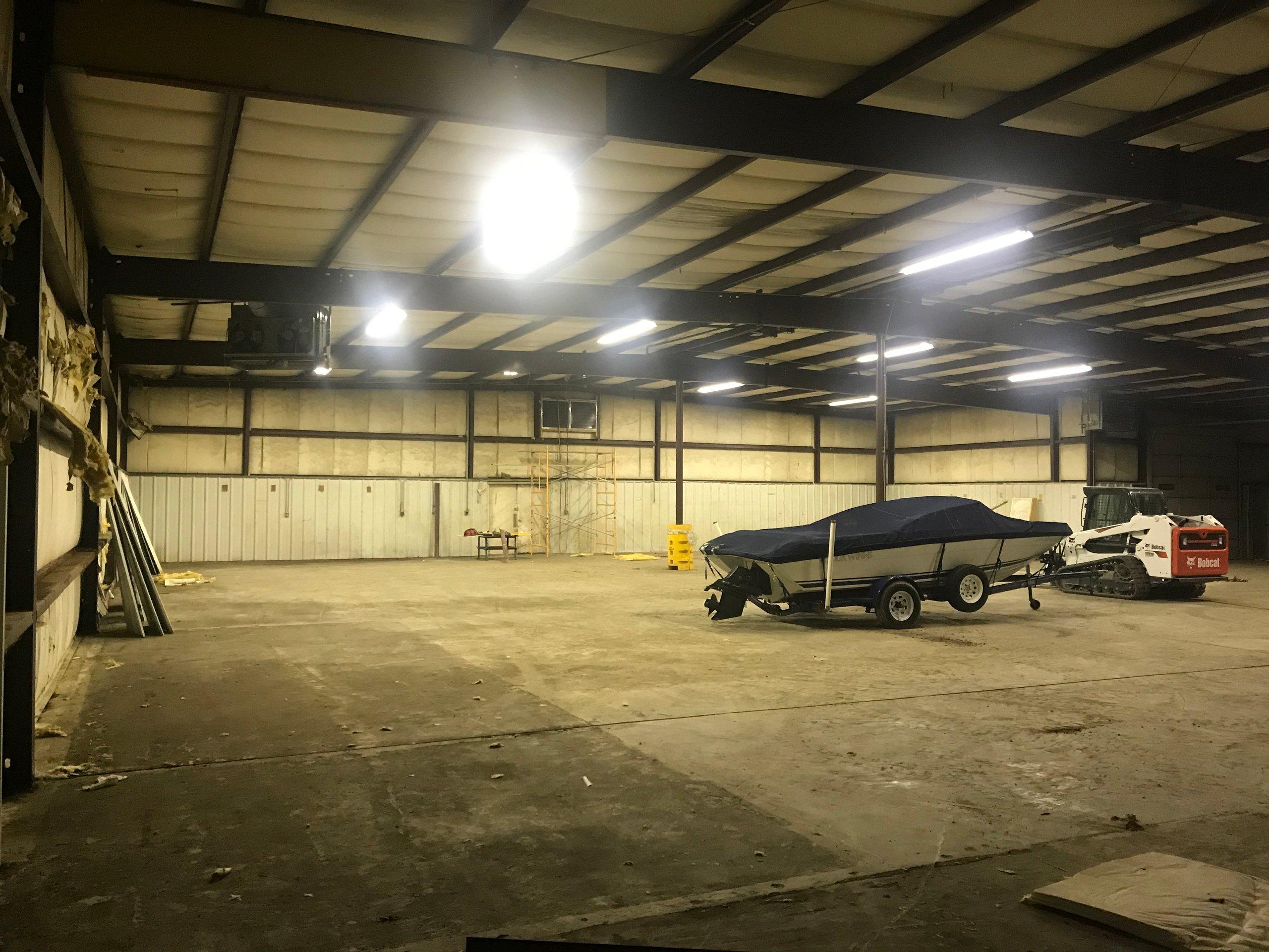 50x80 Warehouse self storage unit