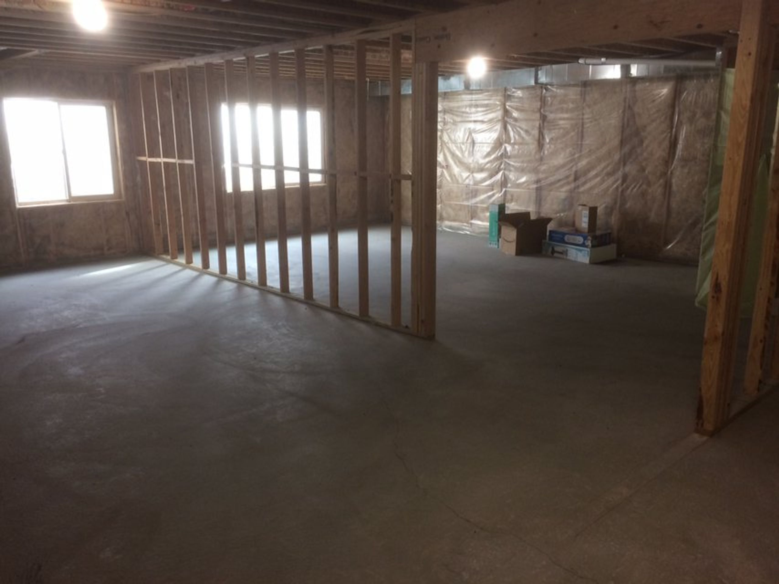 5x5 Basement self storage unit