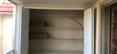 6x2 Closet self storage unit