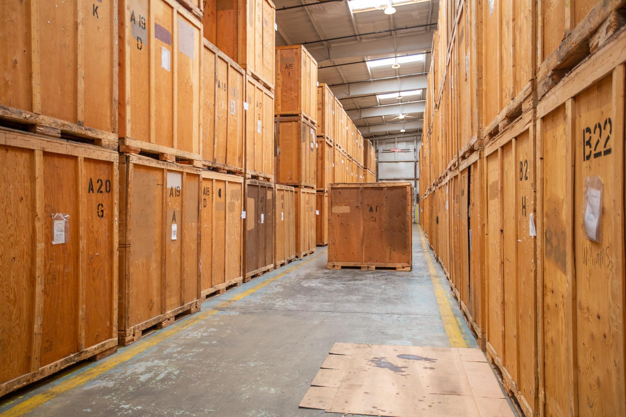 20x20 Warehouse self storage unit