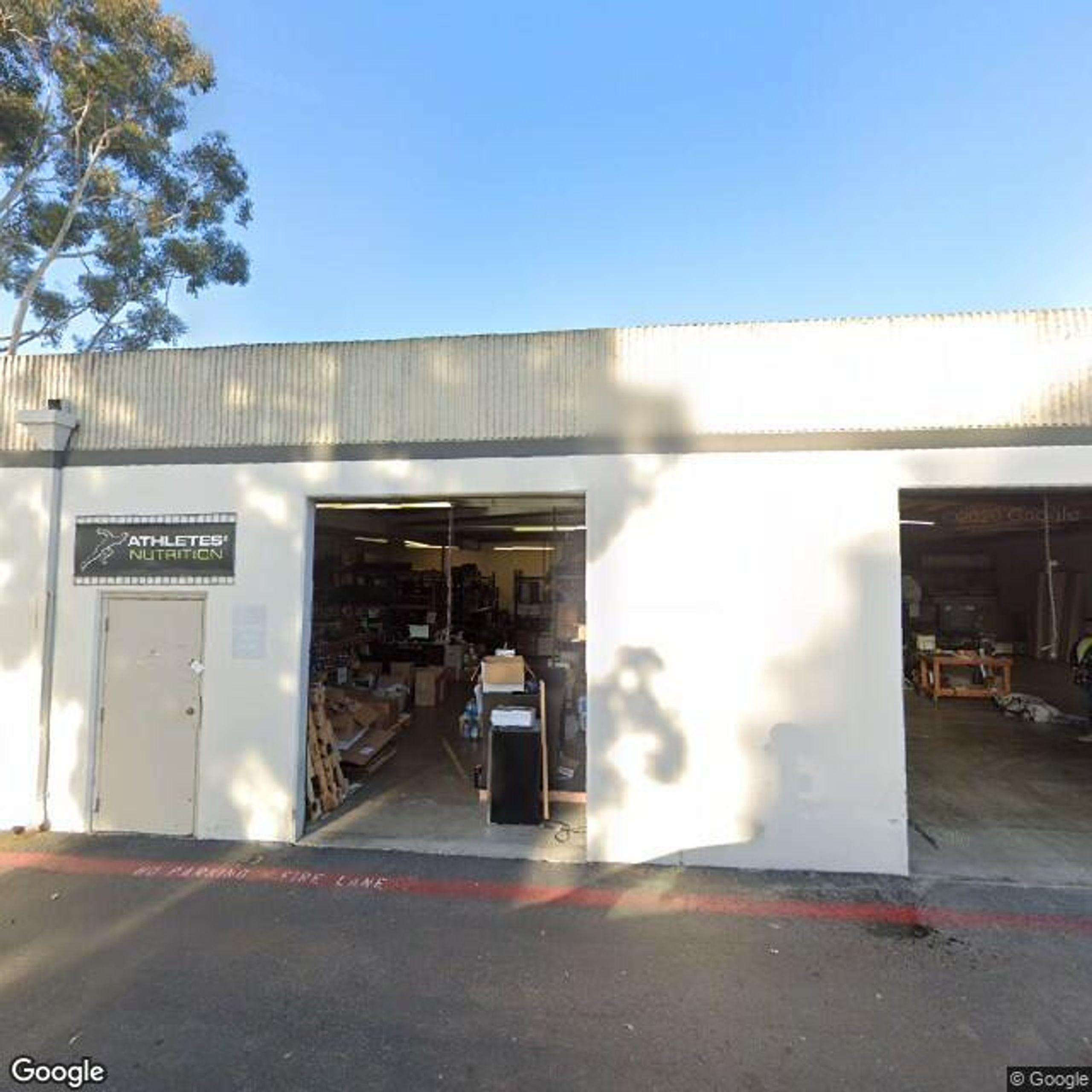96x48 Warehouse self storage unit