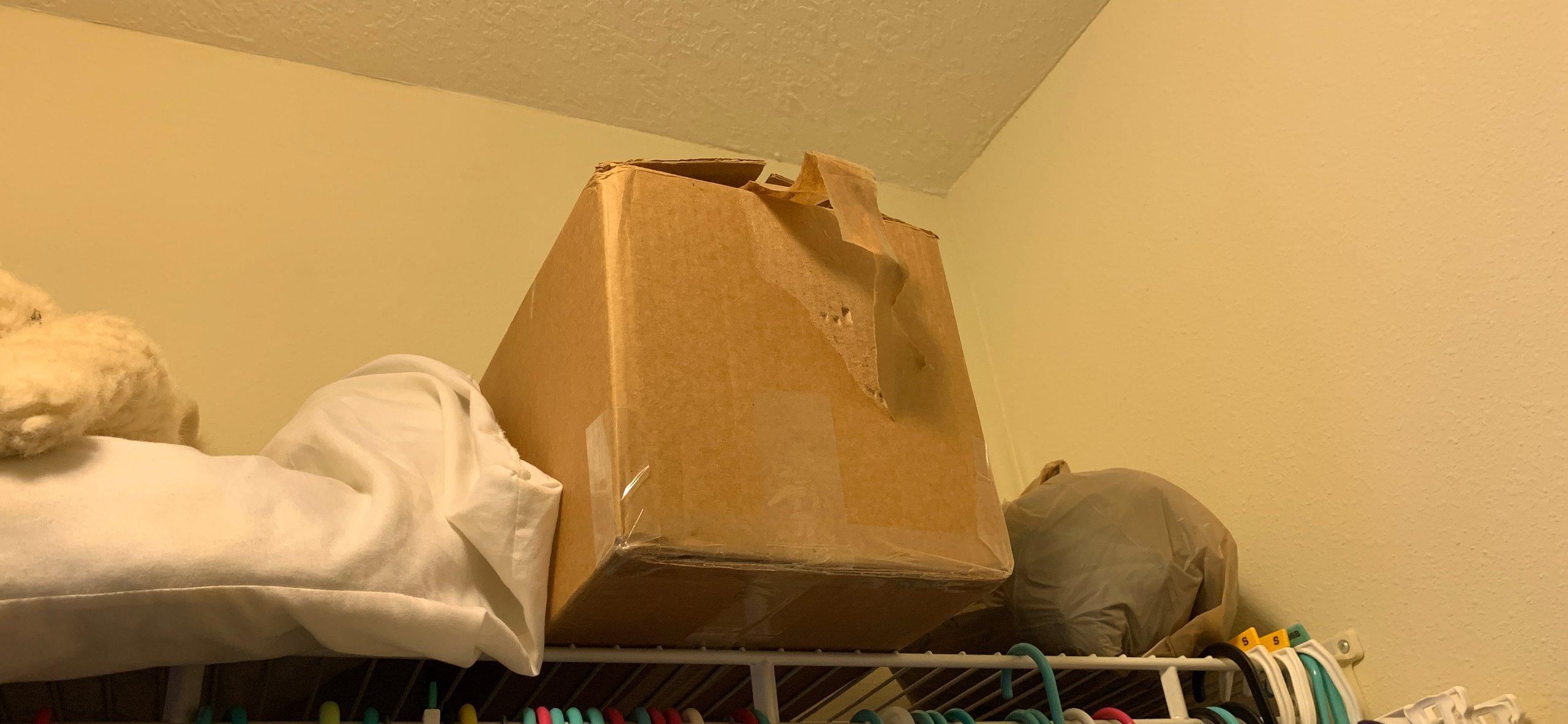 10x11 Closet self storage unit