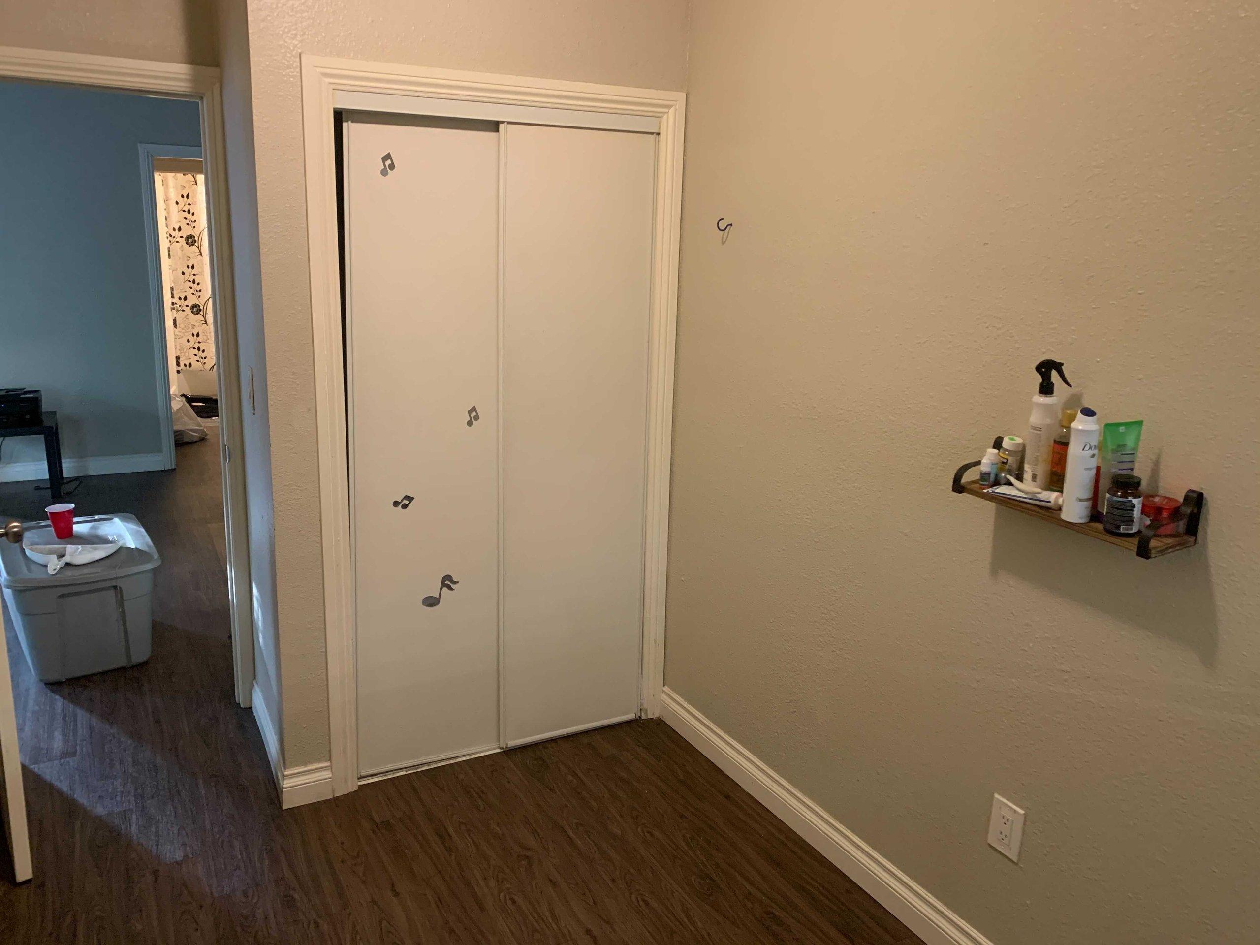 13x8 Bedroom self storage unit