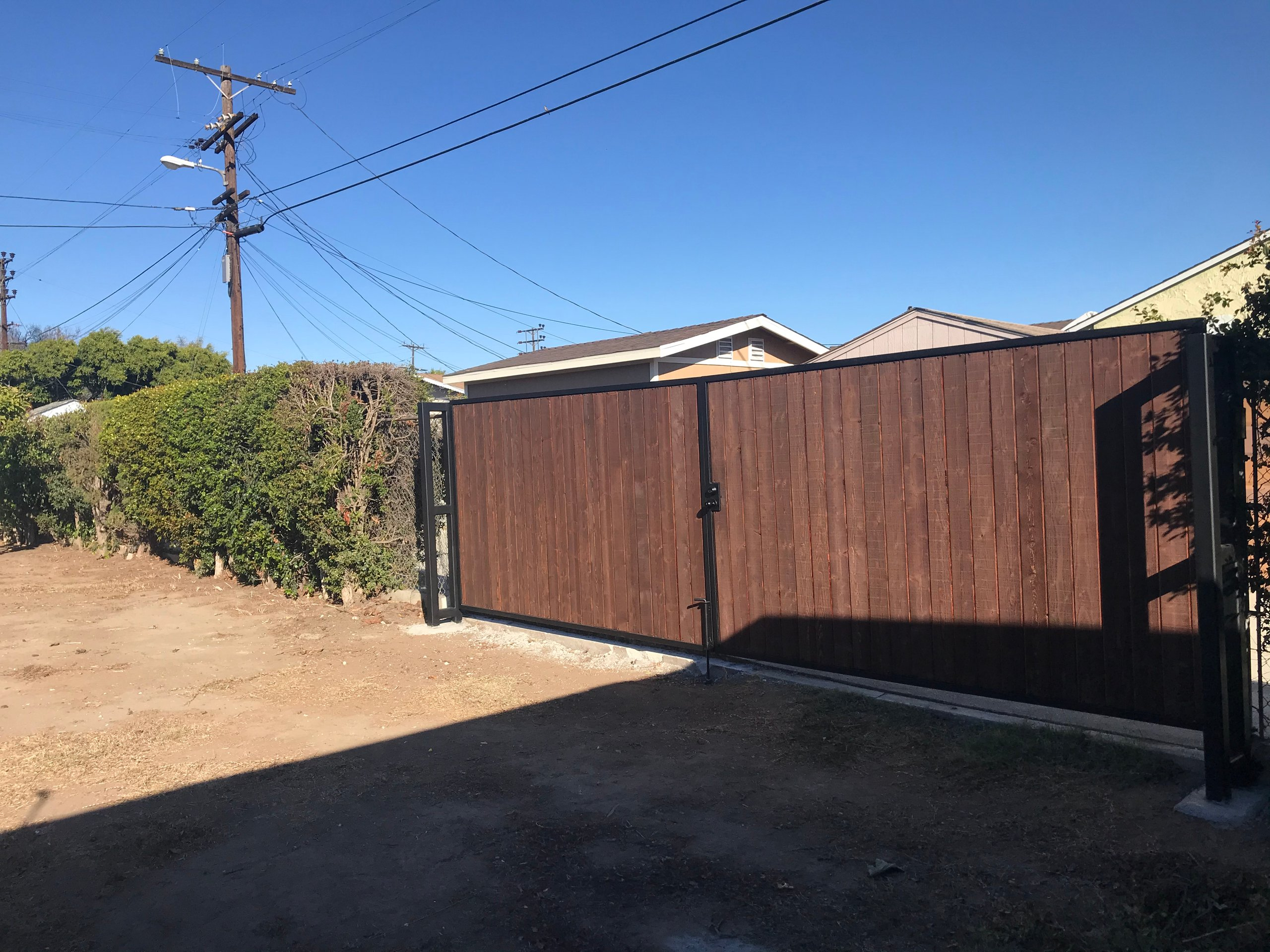 25x10 Unpaved Lot self storage unit