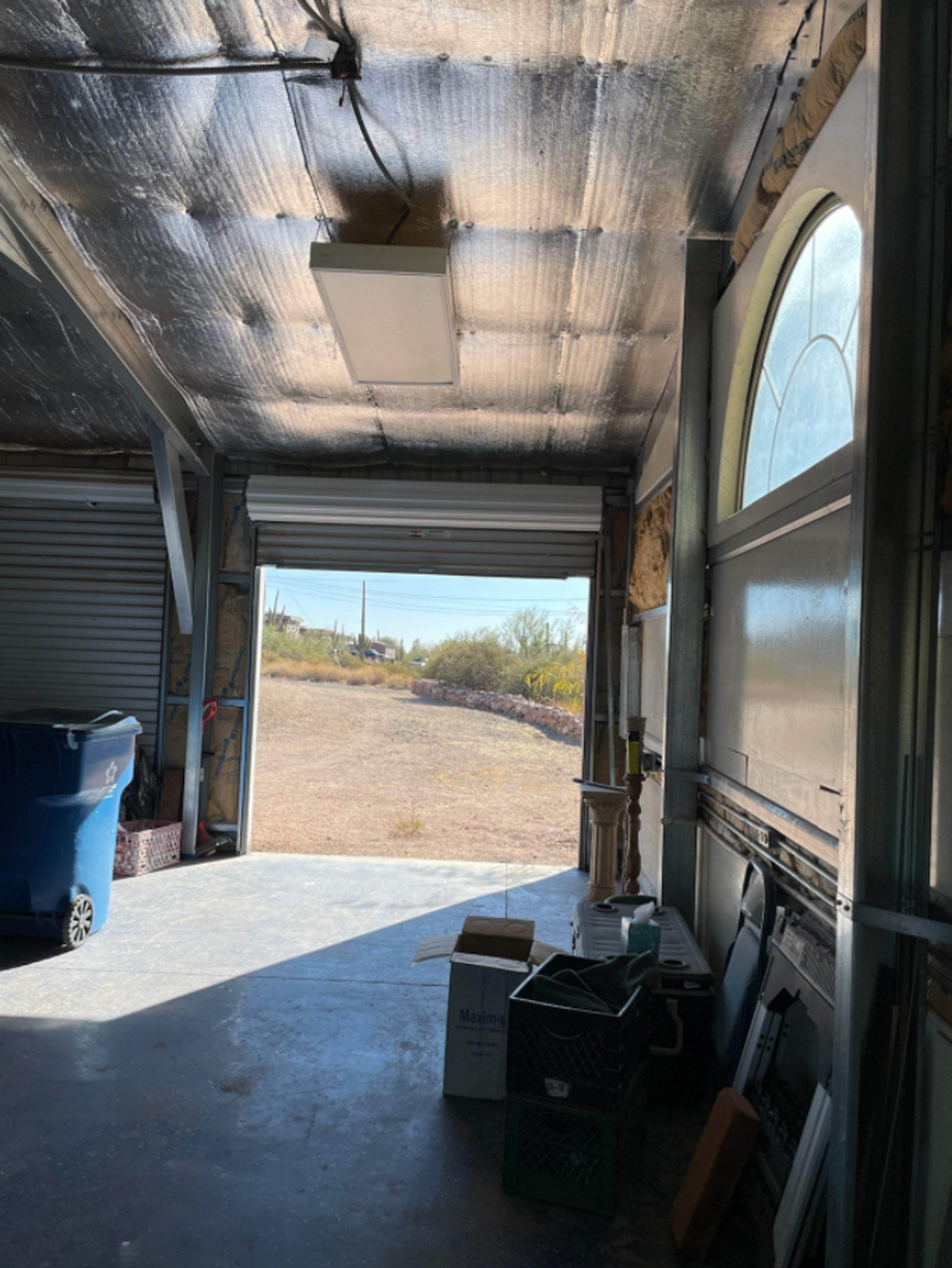 22x10 Warehouse self storage unit