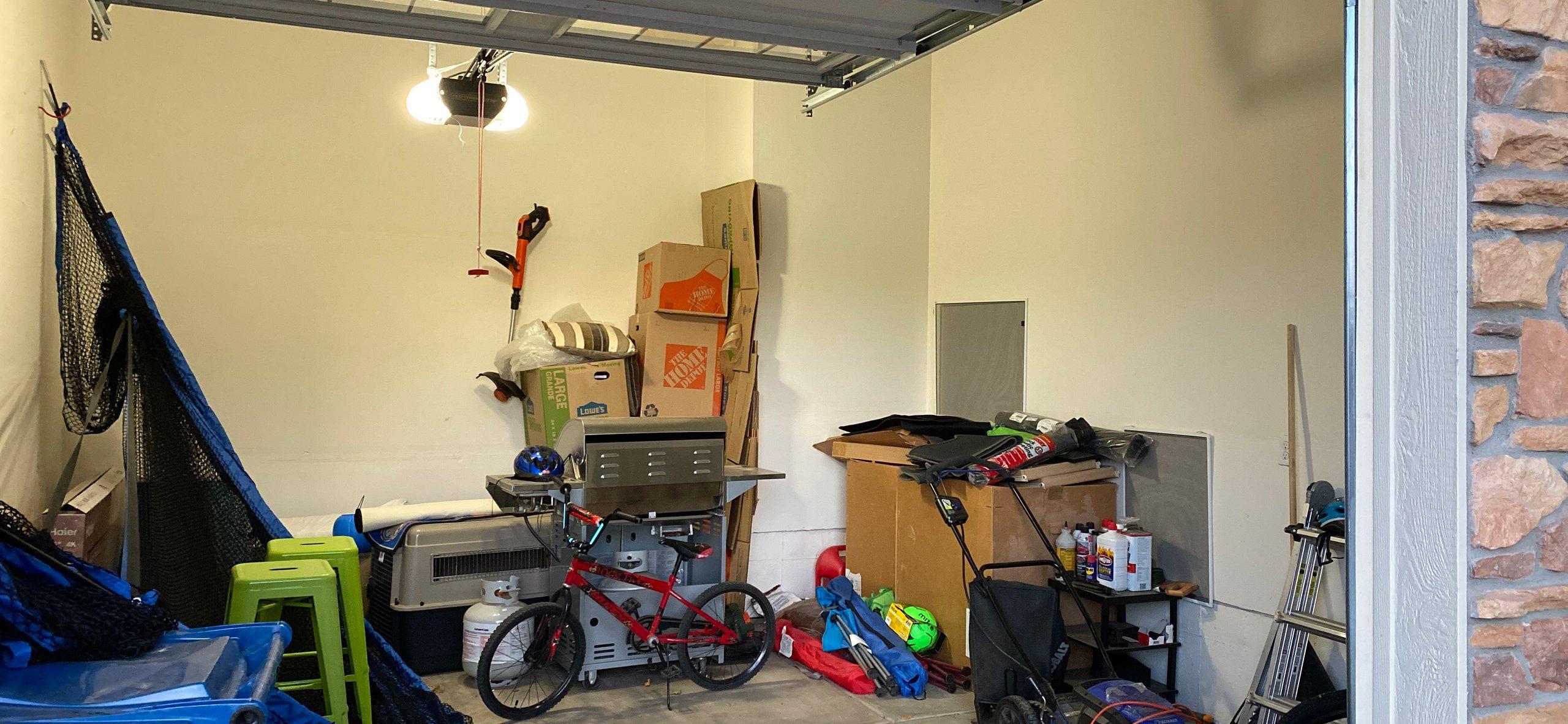 16x14 Garage self storage unit