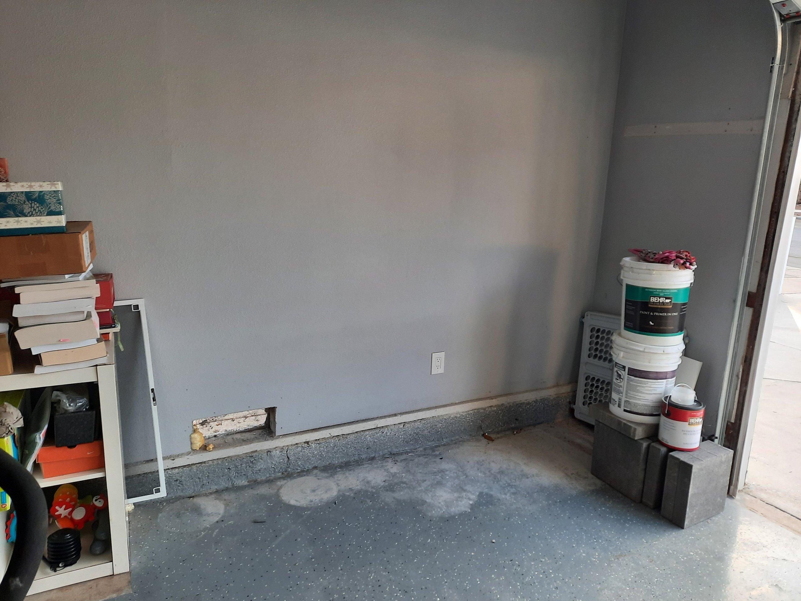 7x3 Garage self storage unit