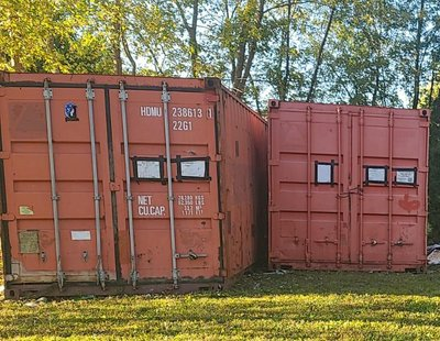 25x10 Shipping Container self storage unit