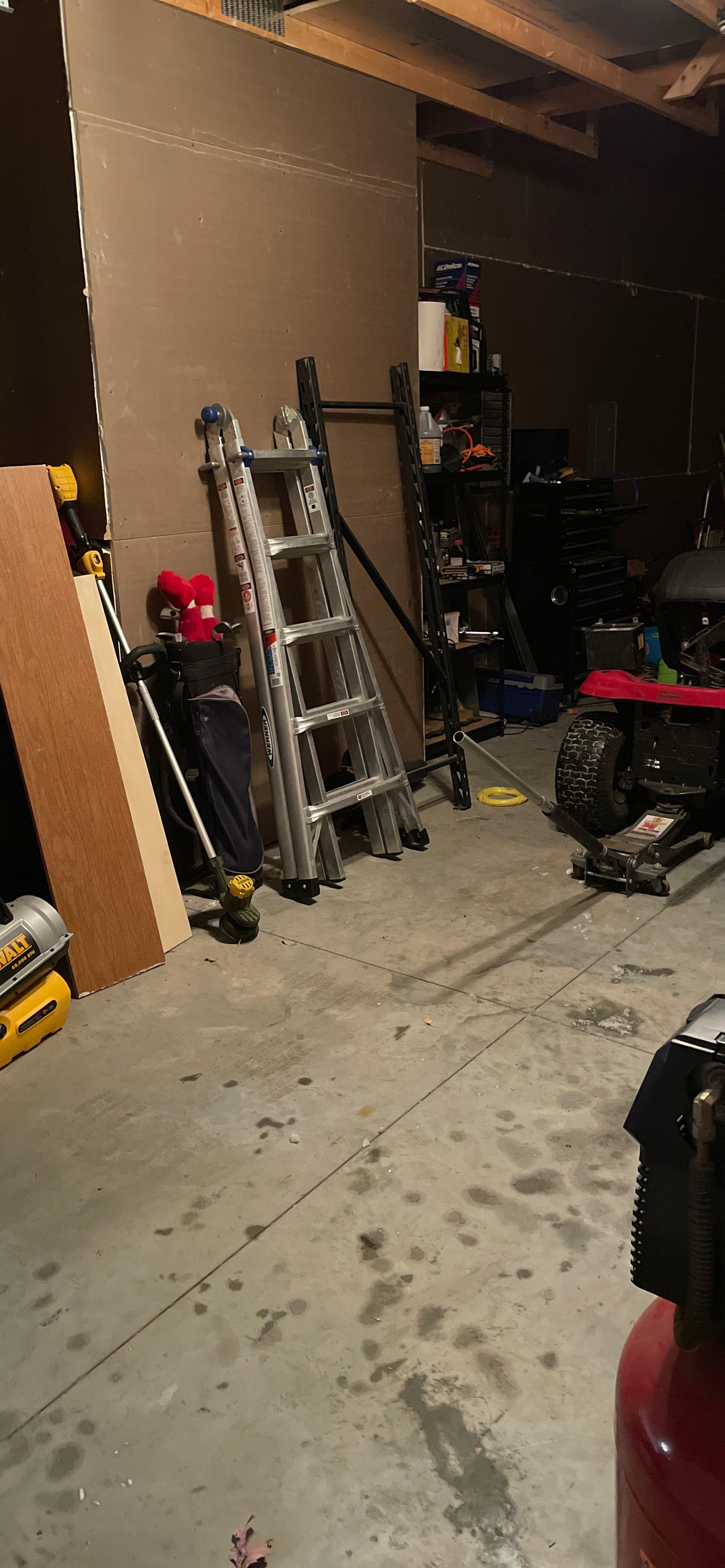 19x12 Garage self storage unit