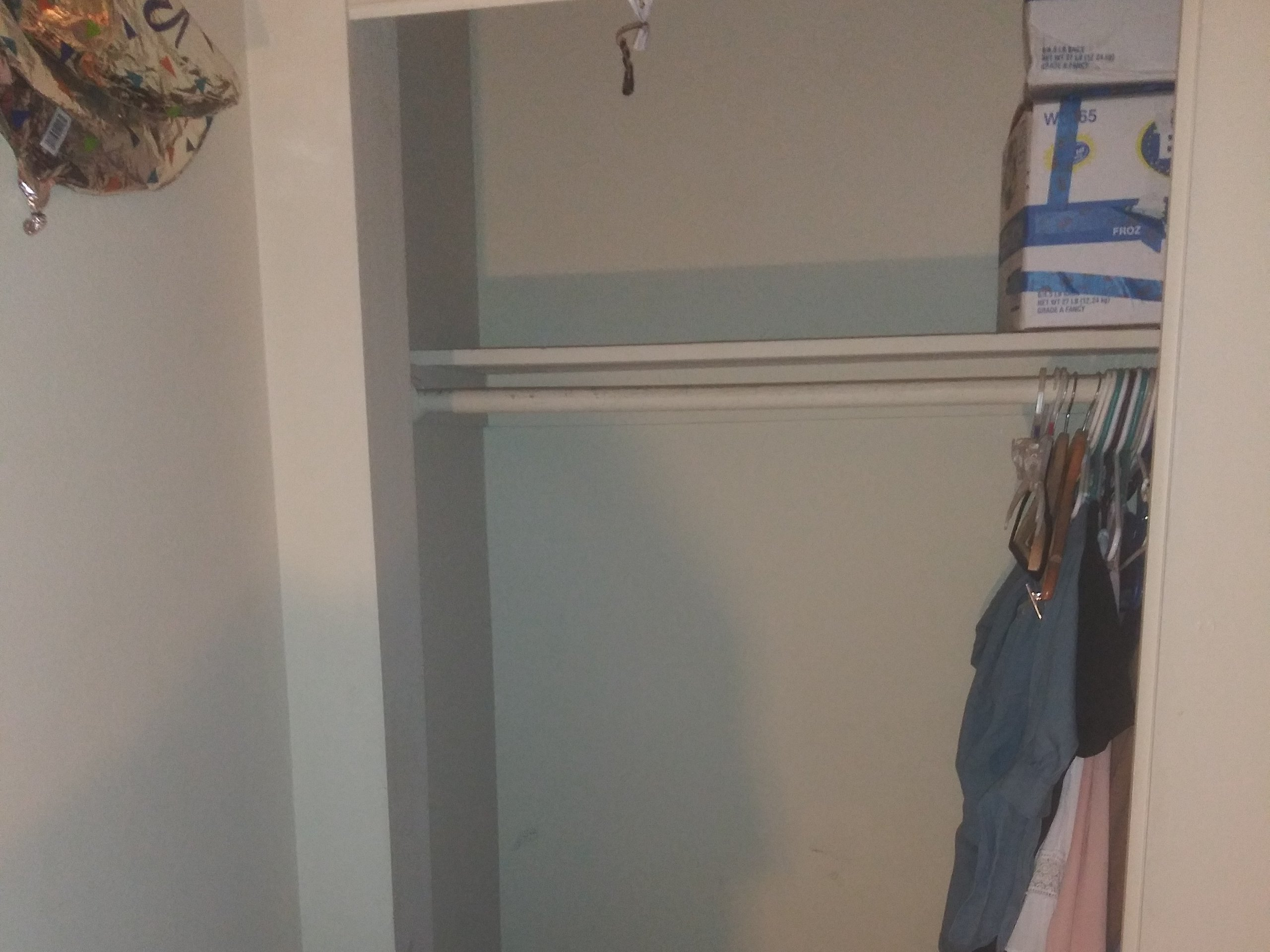 7x3 Closet self storage unit