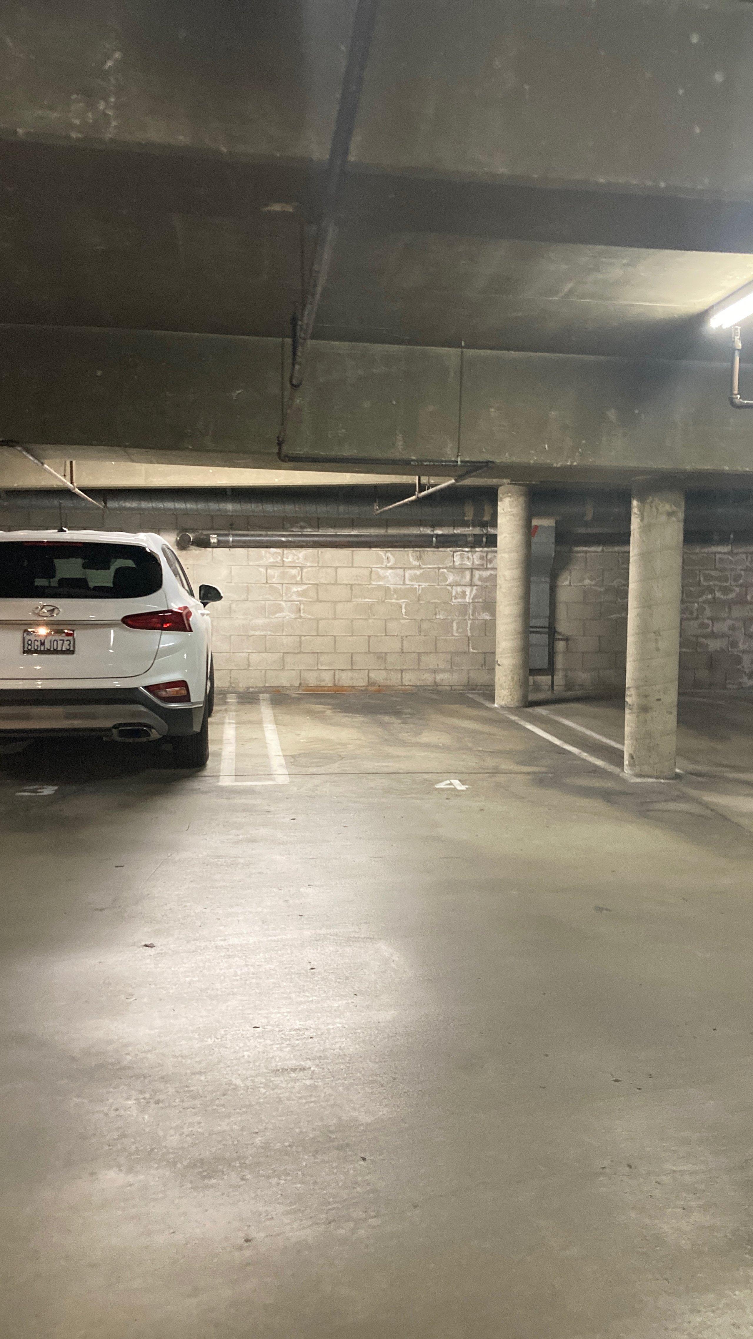 18x8 Parking Lot self storage unit