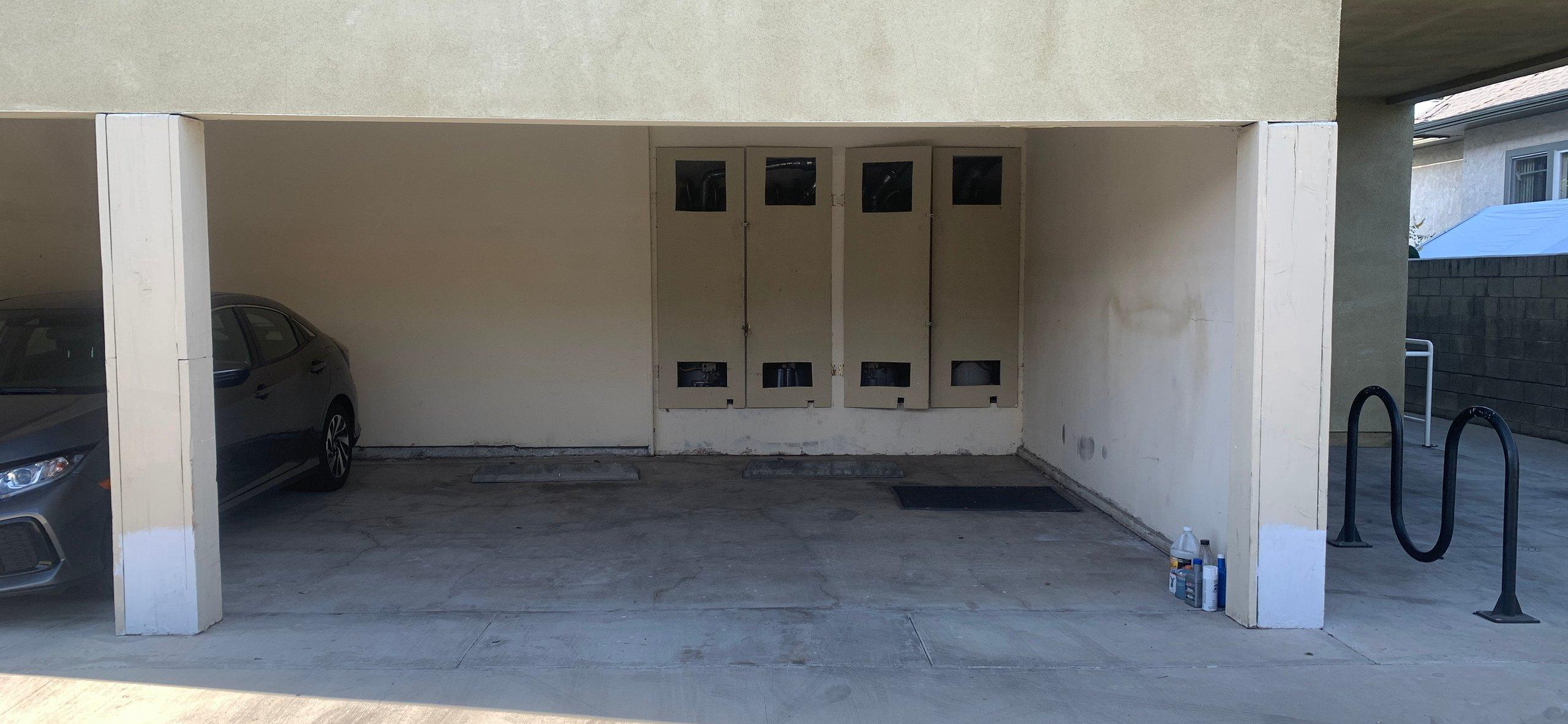 10x10 Carport self storage unit