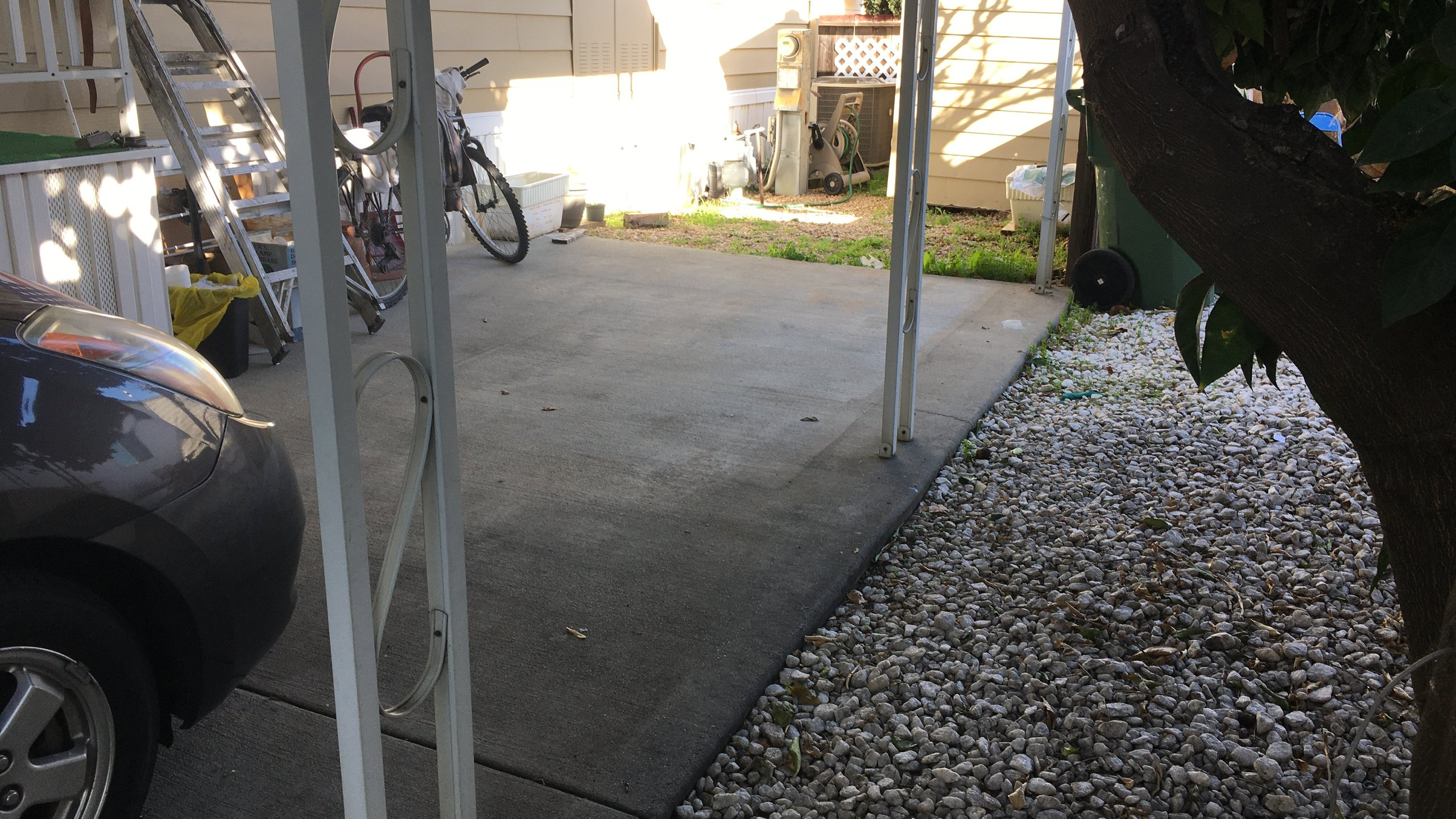 15x7 Carport self storage unit