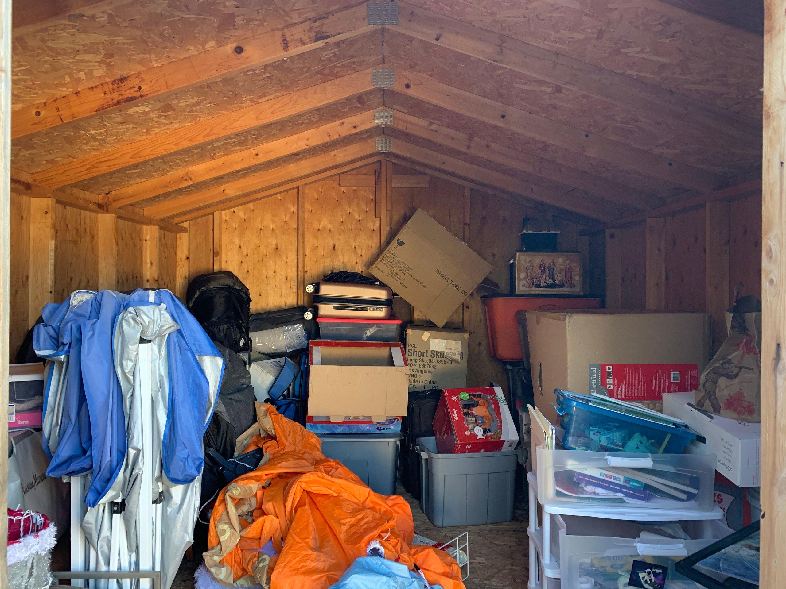 11x12 Shed self storage unit