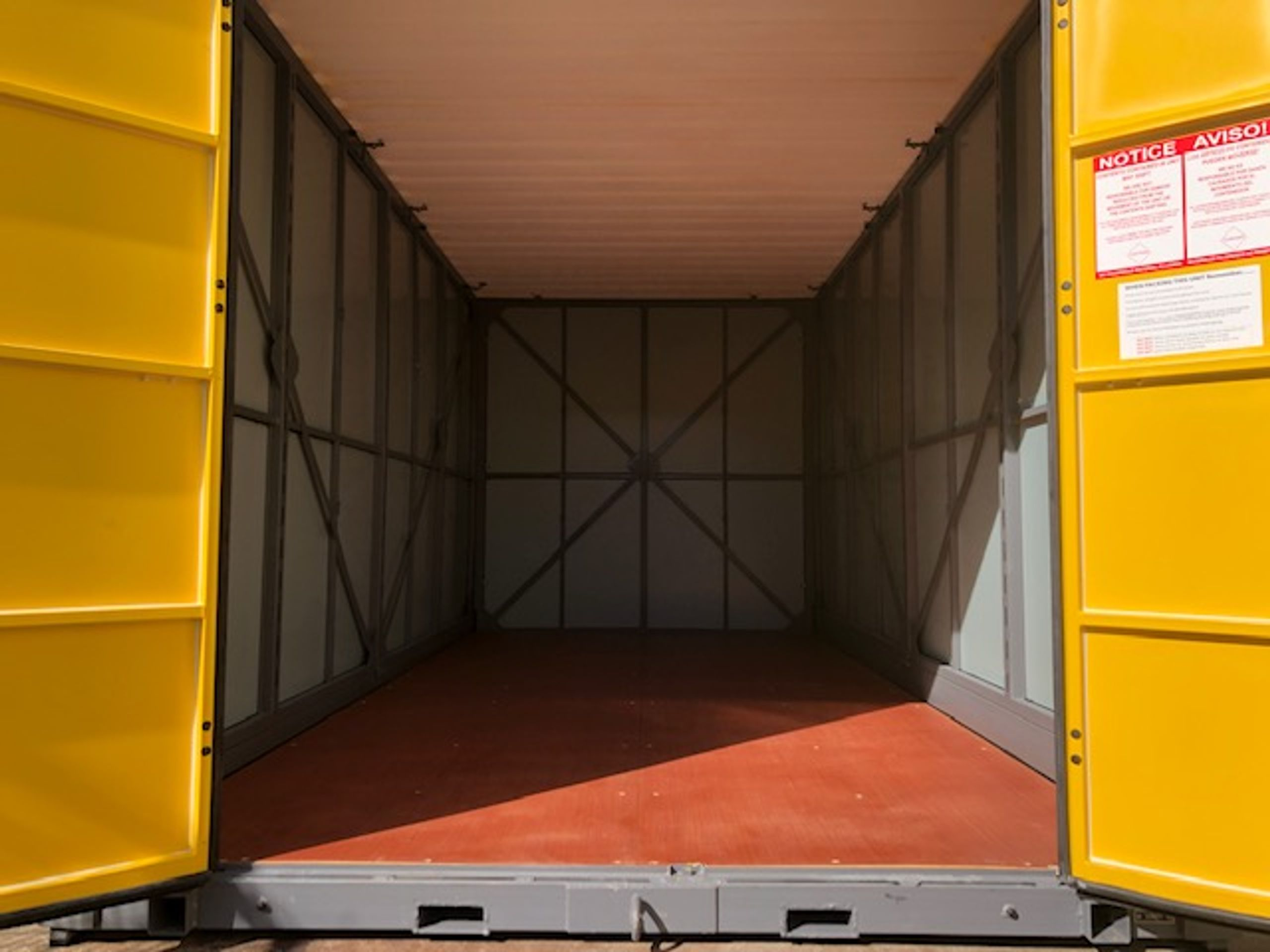 16x8 Shipping Container self storage unit