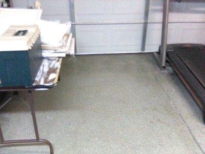7x8 Garage self storage unit
