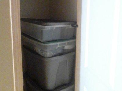 2x3 Closet self storage unit