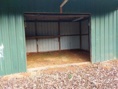9x16 Driveway self storage unit