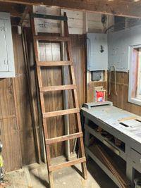 19x8 Attic self storage unit