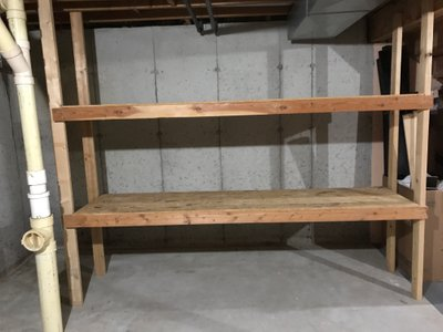 11x5 Basement self storage unit
