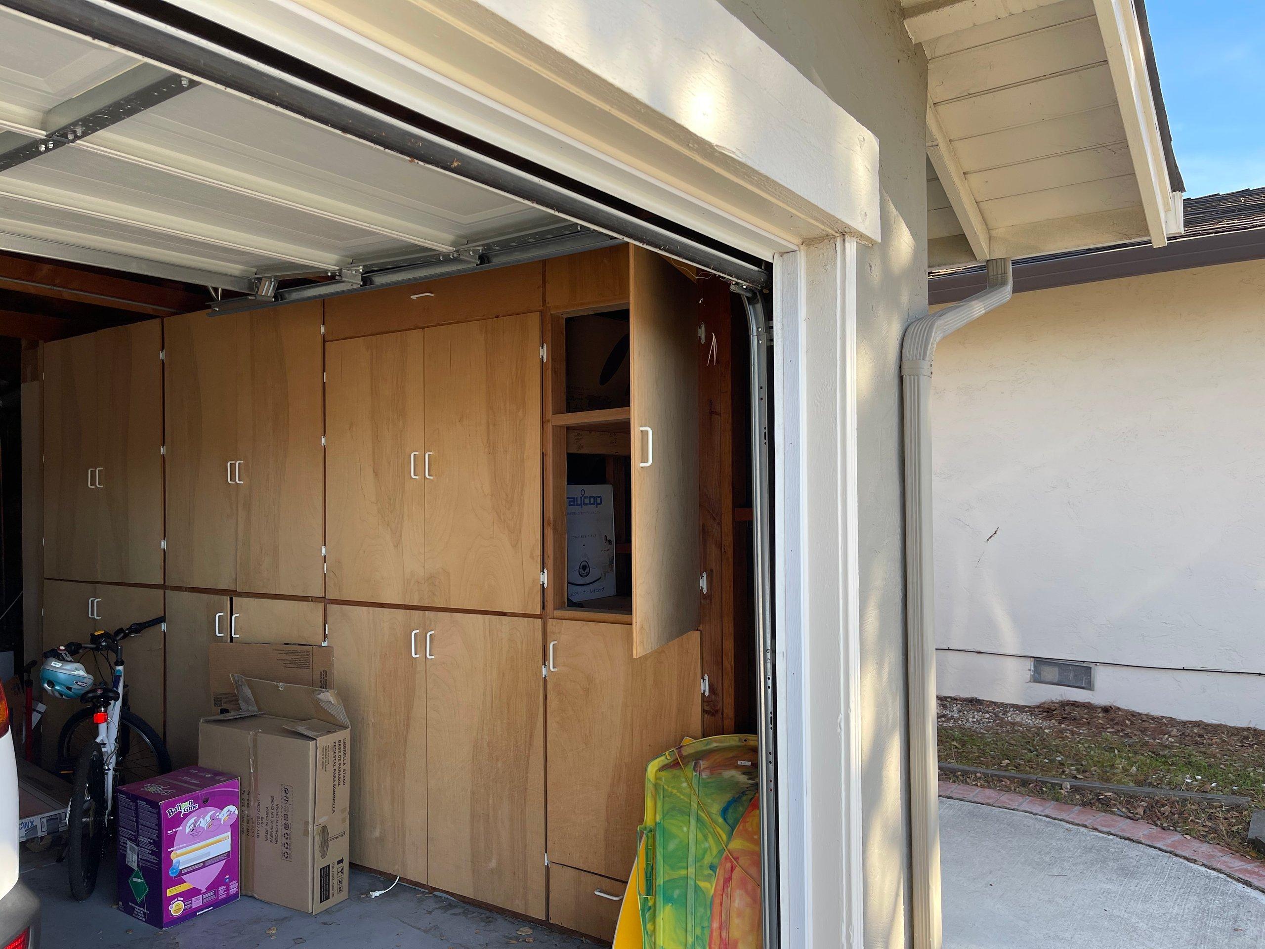 2x2 Garage self storage unit