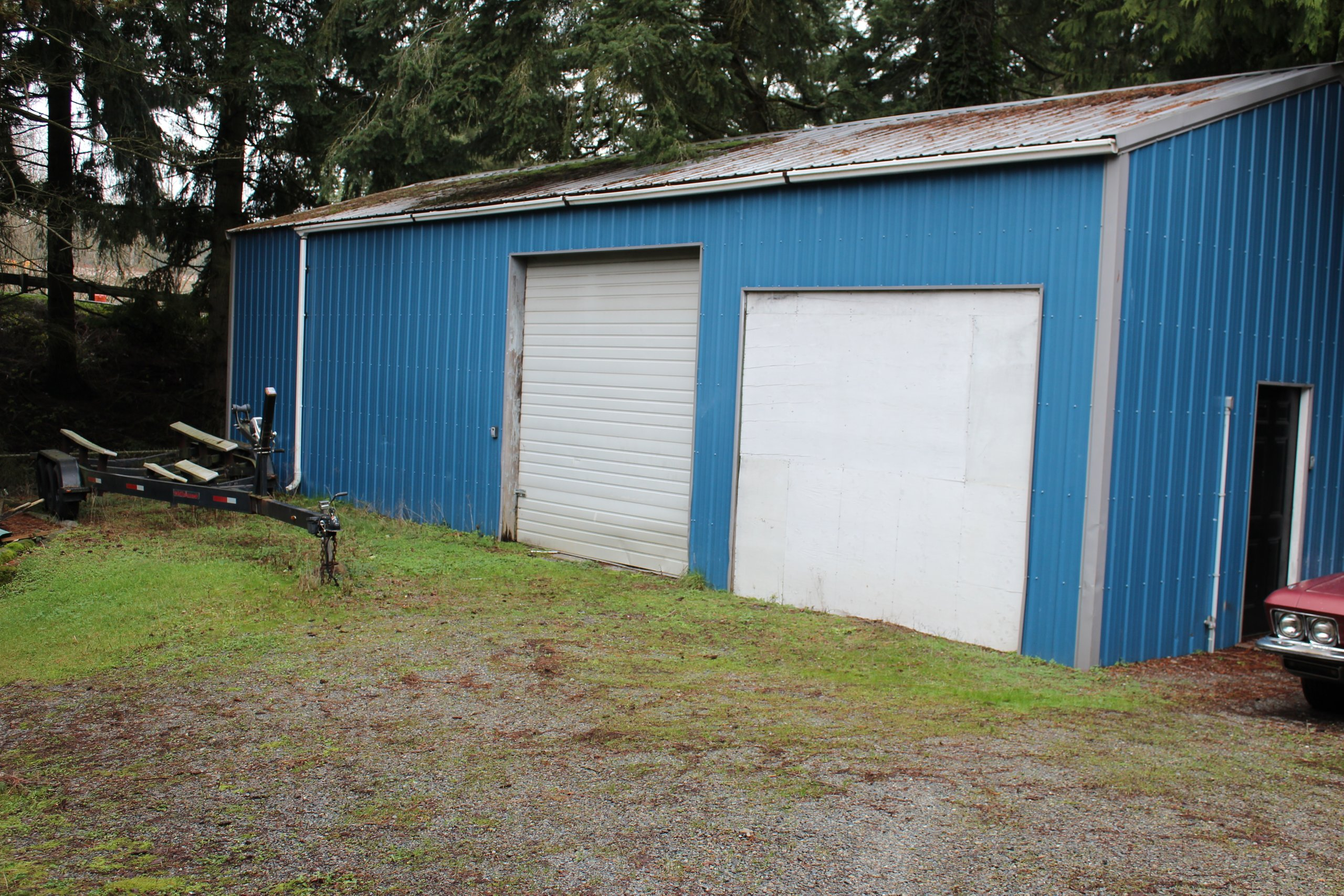 25x20 Garage self storage unit