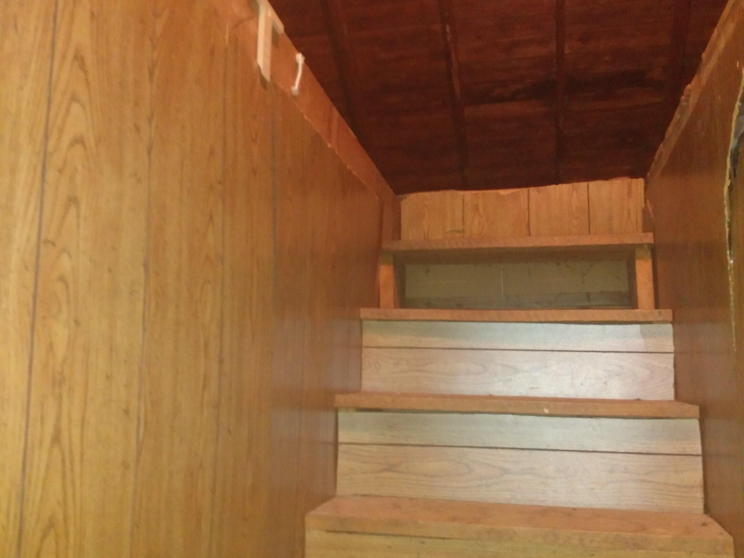 28x17 Attic self storage unit