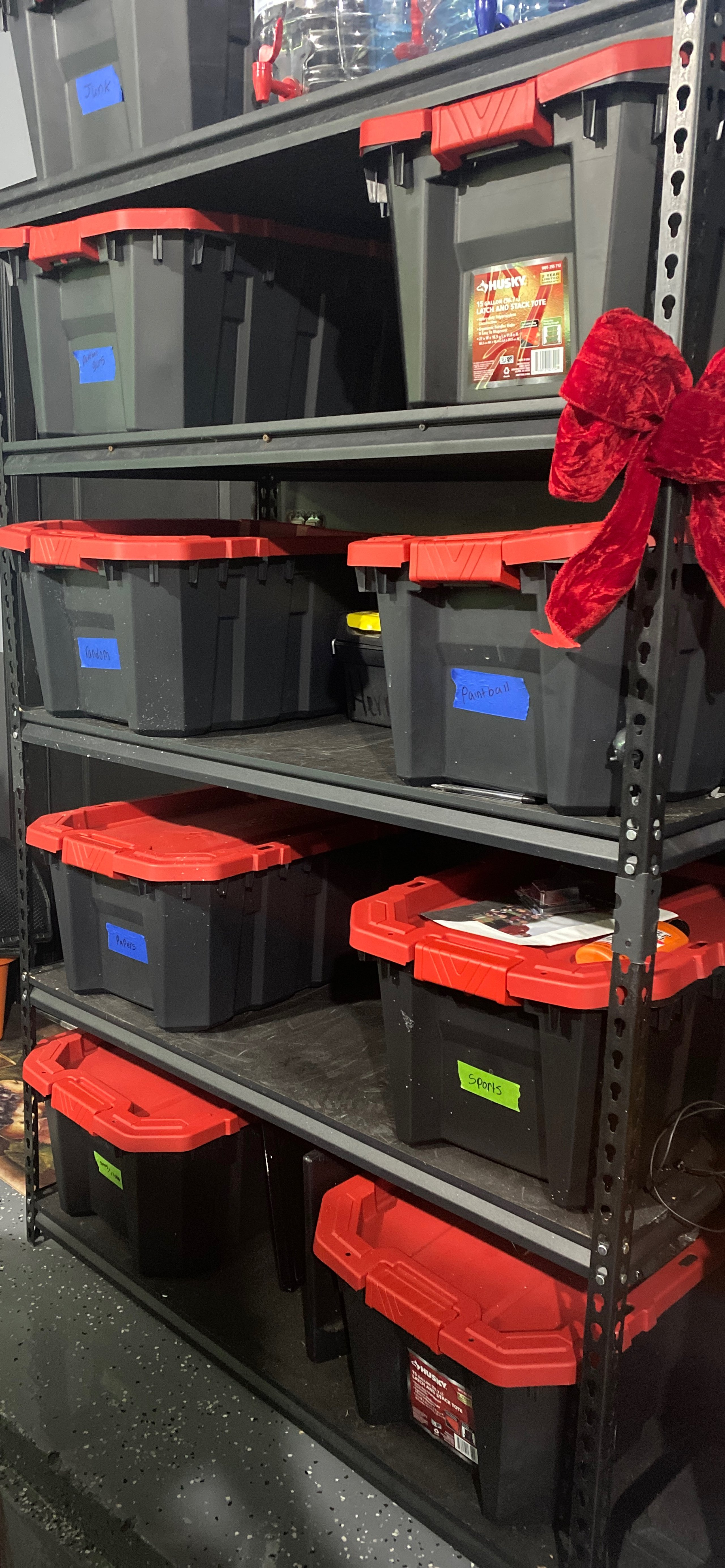 12x20 Garage self storage unit