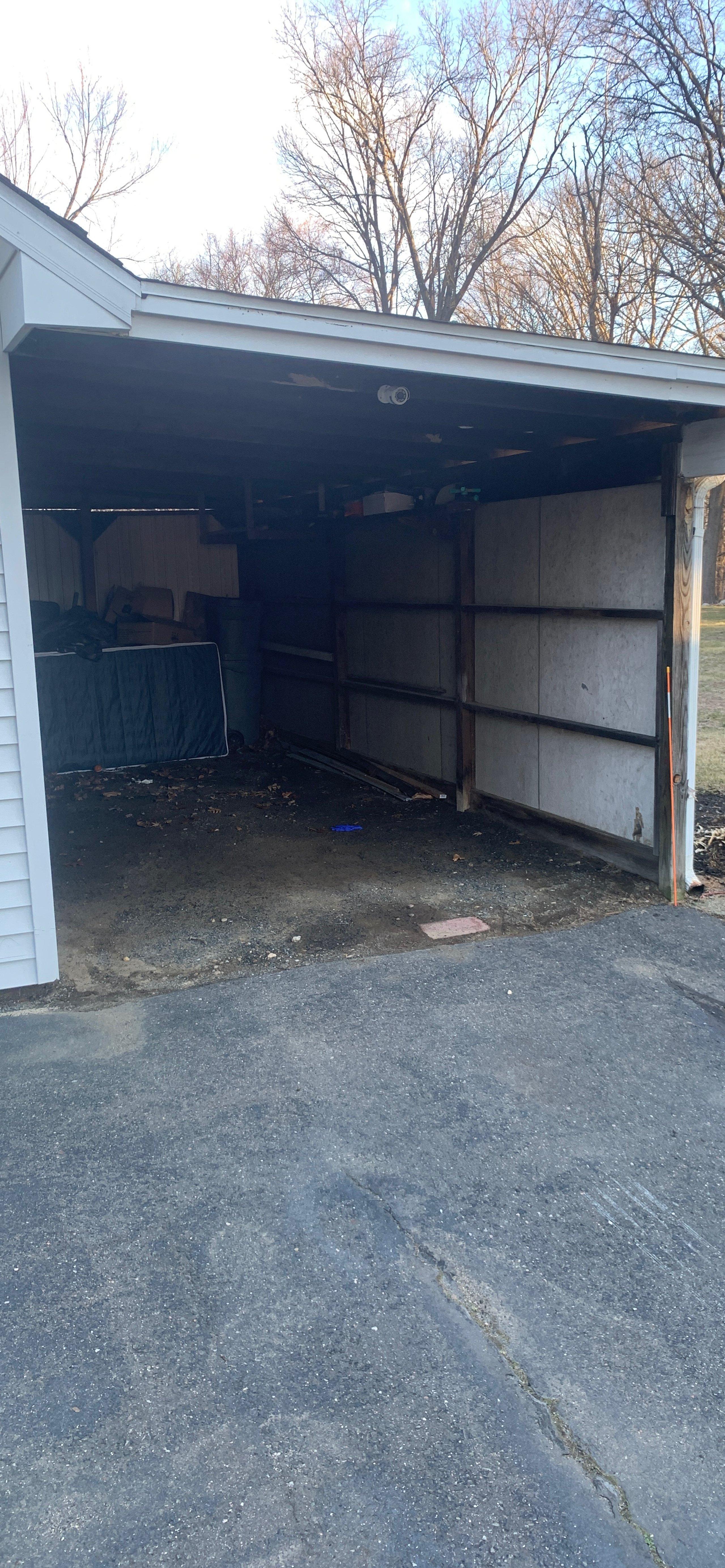 24x15 Carport self storage unit