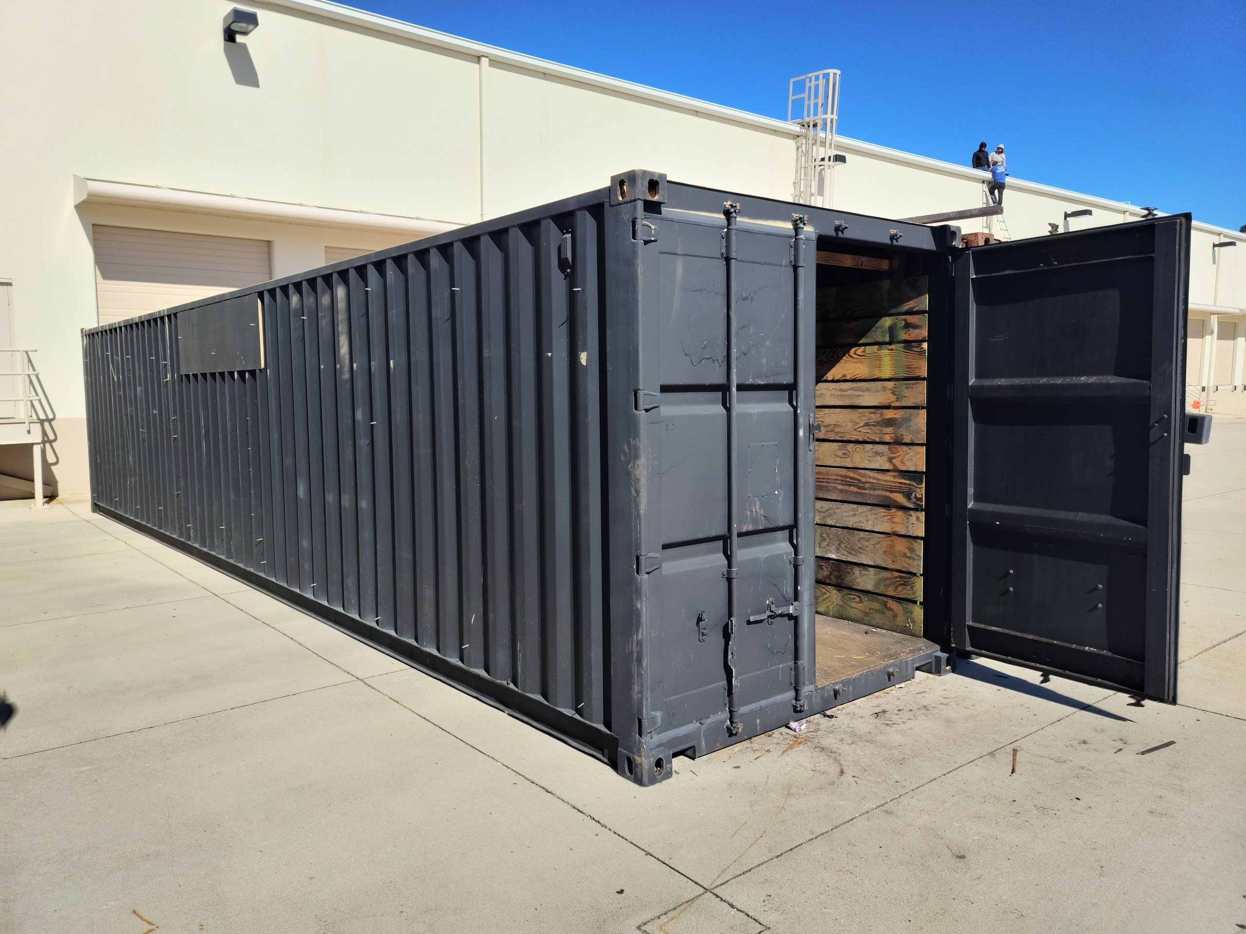 40x10 Shipping Container self storage unit