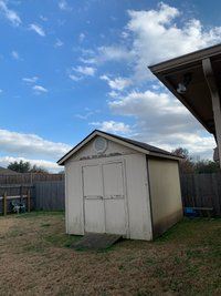 8x10 Shed self storage unit