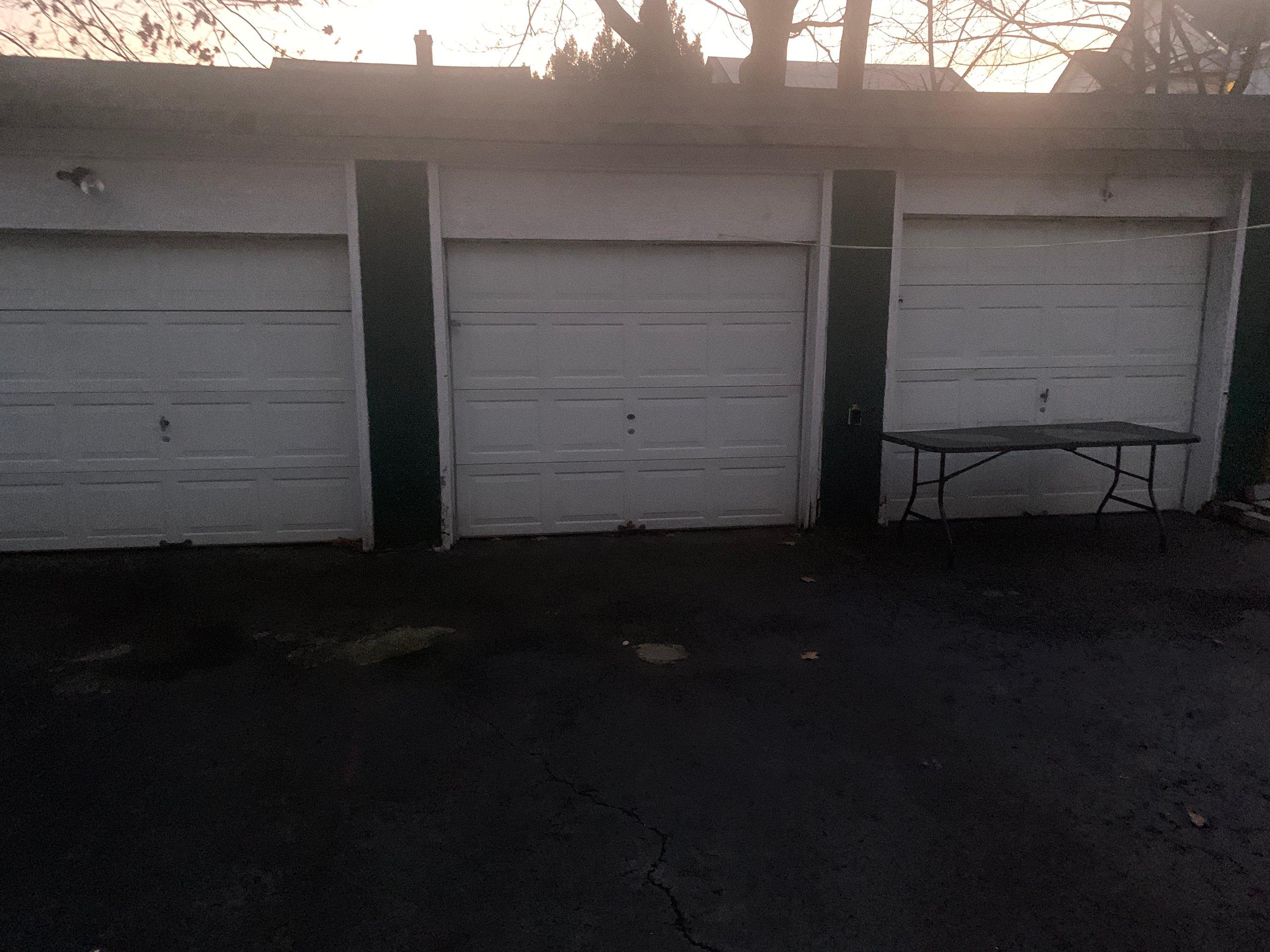40x40 Driveway self storage unit