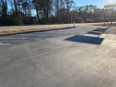 25x15 Parking Lot self storage unit