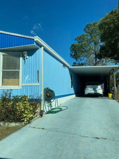 70x18 Carport self storage unit