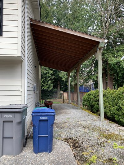 50x10 Carport self storage unit